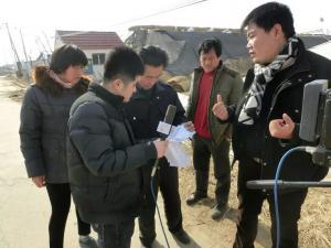 山东省科技厅采访现场